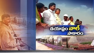 Diaphragm wall construction of Polavaram project was completed