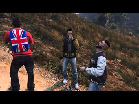 GTA 5 THE WRONG TURN (Horror Movie)