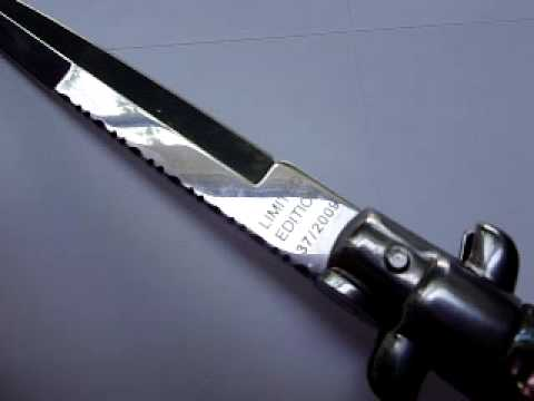 Stiletto Switchblade Knife