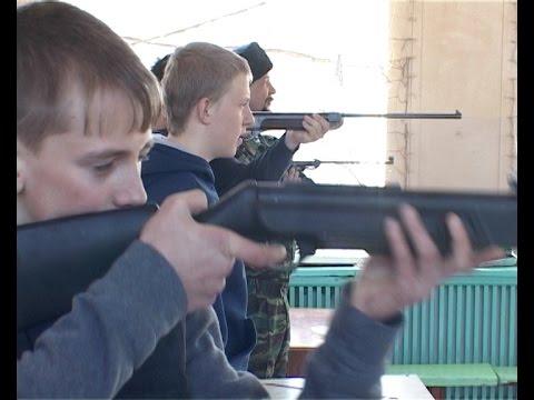 Соревнования в стрельбе из пневматической винтовки за кубок маршала Жукова