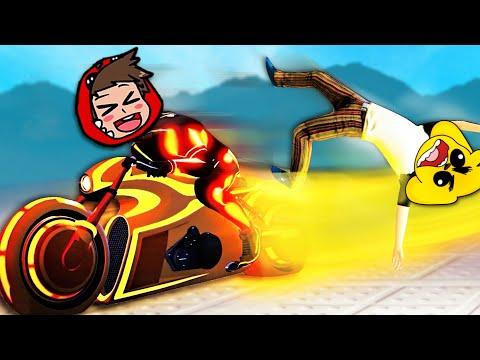 GTA 5 pero atravesamos a nuestros amigos 😂 GTA 5 MOTOS VS LOS COMPAS #3