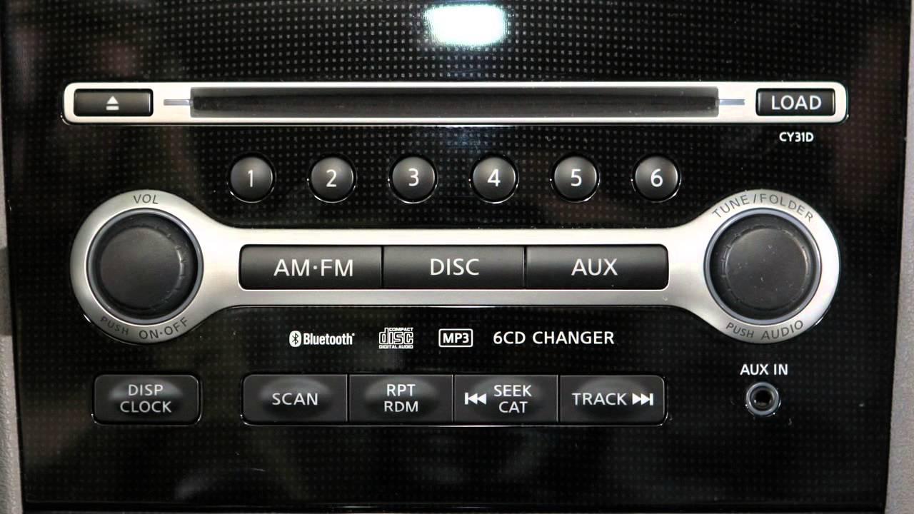 2013 NISSAN Maxima   Audio Systems   YouTube