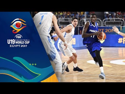 Argentina v France - Full Game - FIBA U19 Basketball World Cup 2017