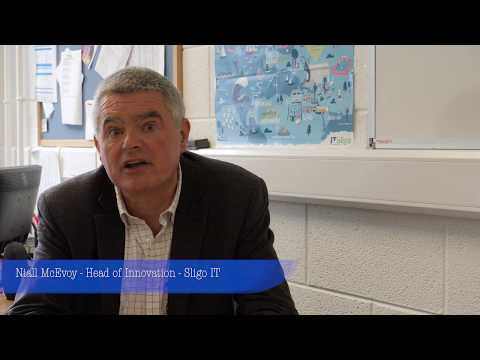 Niall McEvoy, Head of the Innovation Centre, IT Sligo