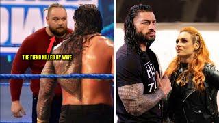 Roman Reigns Disrespects A WWE Legend Because Of Becky Lynch WWE Kills The Fiend Bray Wyatt