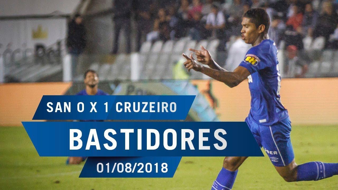 9500dda69c 01 08 2018 - Bastidores Santos 0 x 1 Cruzeiro - YouTube