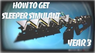 Destiny   Lost Exotics - How to get Sleeper Simulant in Year 3
