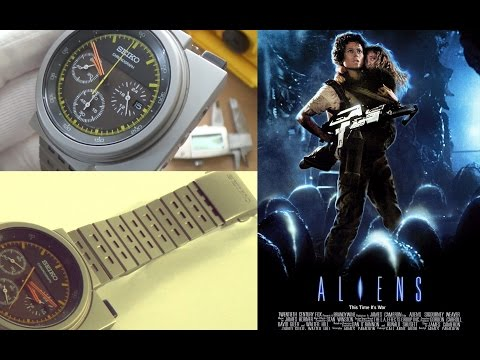 "An 80s Icon Reborn - The Seiko ""Ripley"" Aliens SCED035 Giugiaro Limited Edition Watch Full Review"