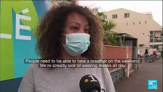 France's La Reunion faces partial lockdown as Covid surges • FRANCE 24 English