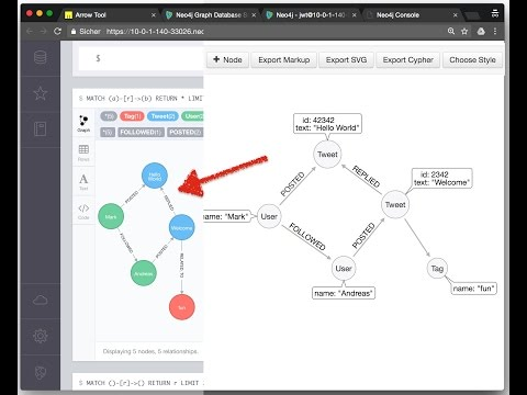 Quickly create example graph data for Neo4j using Arrows