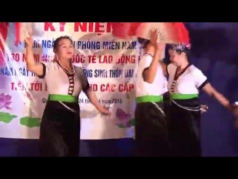 Múa : Điệu xòe thương nhau - CLB DS thôn Đậu - Sơn Đông