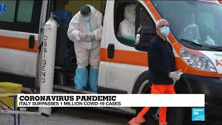 Coronavirus pandemic: Italy surpasses one million Covid-19 cases