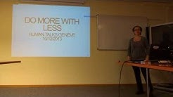 [HumanTalks Genève] Do more in your CSS with Less