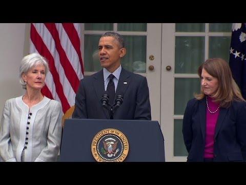 Obama announces Sebelius' resignation