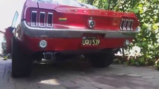 Hitting Redline and Exhaust 1967 Mustang
