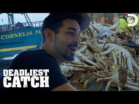 Josh And Casey Hit King Crab Pay Dirt | Deadliest Catch