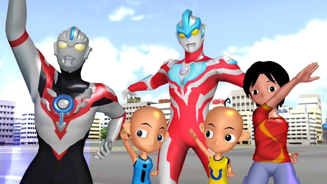 Upin Ipin Shiva Antv Ultraman Orb And Ginga Nursery Rhymes Youtube