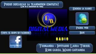 Toonlandya 14 Julio 2011 - Invitados: Laura Torres, René García y Mario Castañeda - Parte 1/??