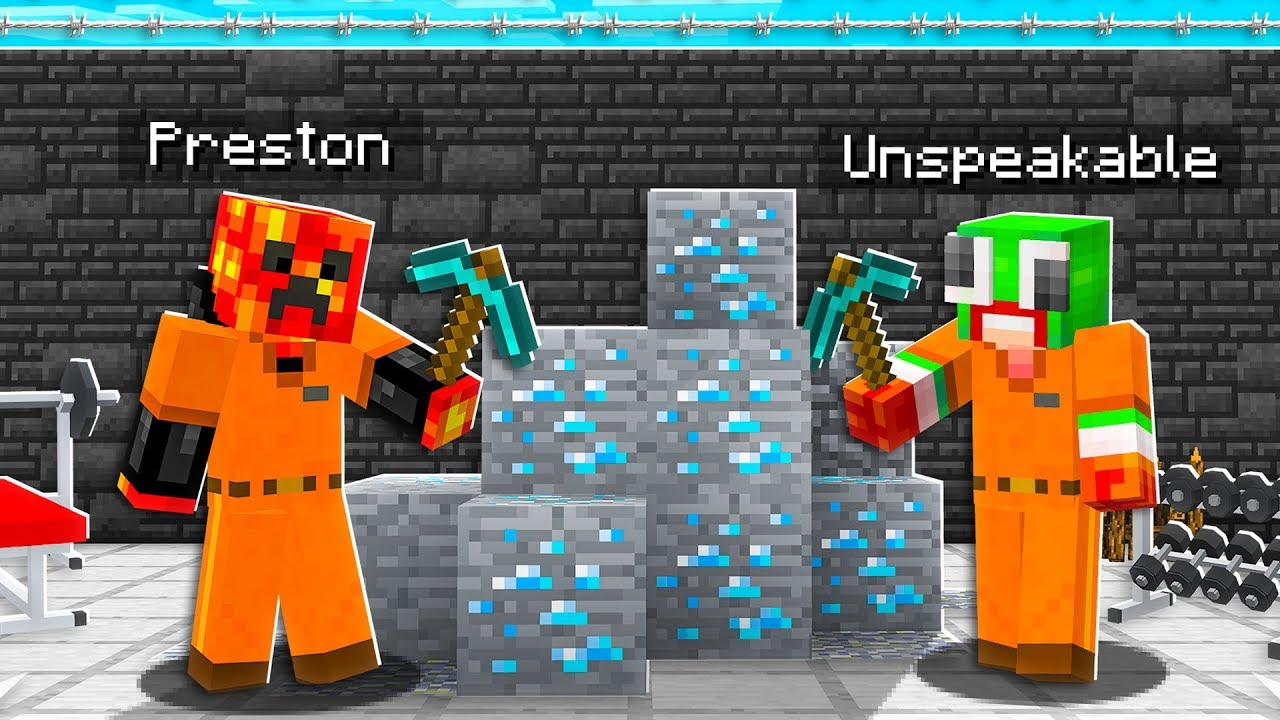 I Got ARRESTED in Minecraft Cosmic Prisons YouTube