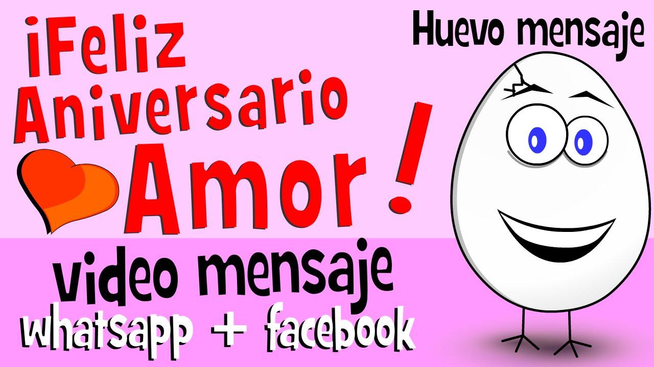 Mensajes Para Aniversario De Bodas: Videos Para Whatsapp Facebook