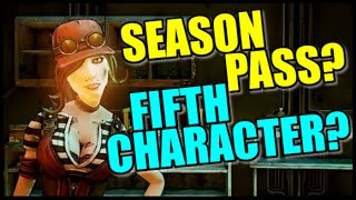 Borderlands The Pre-Sequel: DLC Season Pass and 5th Playable Character Announcement at PAX?