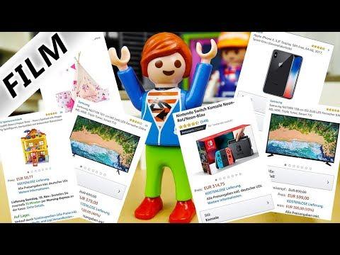 Playmobil Film Deutsch JULIANS 2000€ AMAZON BESTELLUNG! NINTENDO SWITCH, IPHONE X, TV! Familie Vogel