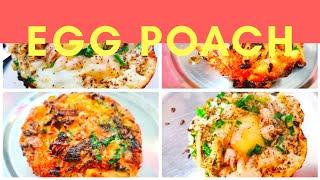 POACHED EGGS RECIPE || EGG HALF FRY RECI || FULL FRY EGG || EGG RECIPE FOR BREAKFAST || MISTER BAGGA