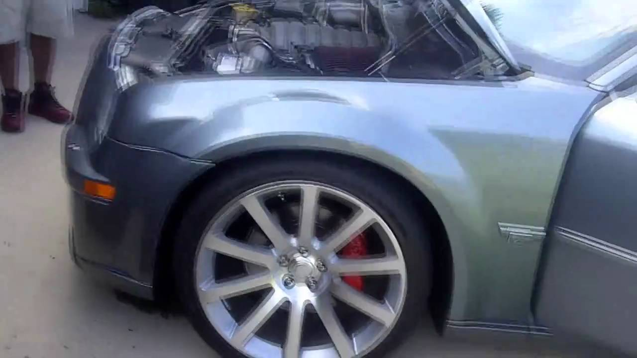My Supercharged Chrysler 300 Srt8 With 22 Inch Srt Replicas Youtube