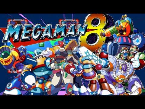 MegaMan 8: All Bosses + Ending