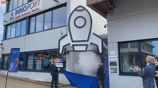 Eröffnung des Innovationszentrums INNOPORT in Reutlingen