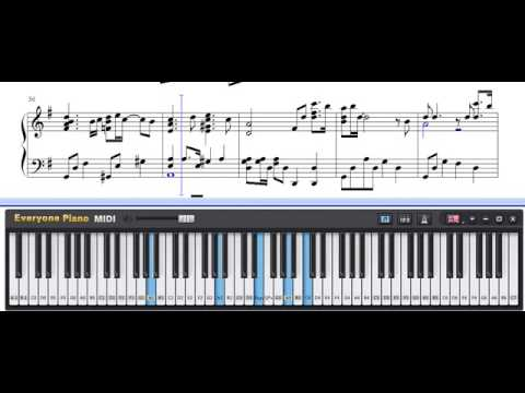My Destiny   My Love From The Star ED | Sheet Music | Piano Tutorial | Piano On PC