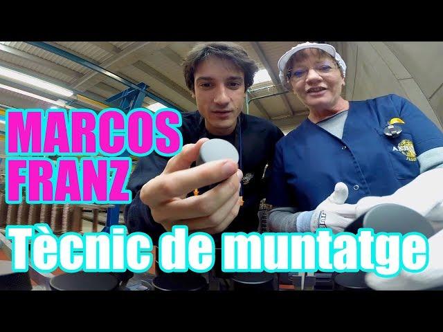 En Marcos Franz fa de tècnic de muntatge #ChallengeIndústria