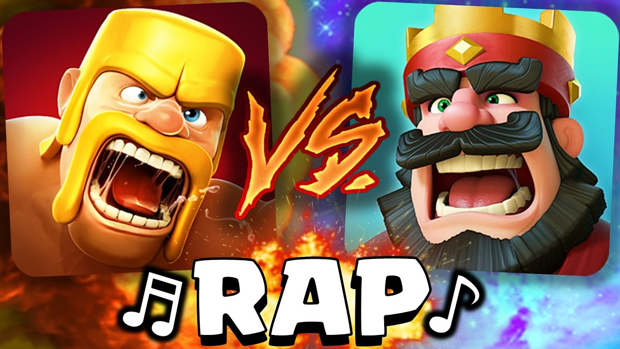 ¡Conflict of Clans VS Conflict Royale! RAP   [AdryBrix Antrax] ☣