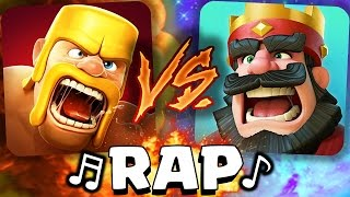 clash of clans vs clash royale rap adrybrix antrax