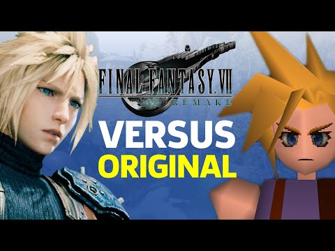 Final Fantasy 7 Remake Vs. Original (Bombing Mission)