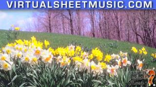 Waltz of the Flowers for piano four hands by Tchaikvosky  (fantasy video)
