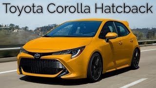 2019 Toyota Corolla Hatchback SE XSE | Details Price Interior Exterior Review