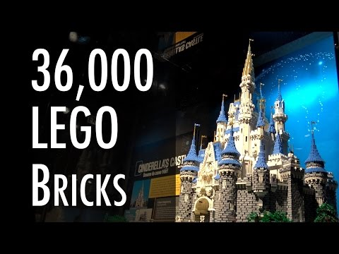 LEGO Disney Cinderella Castle | Museum of Science and Industry