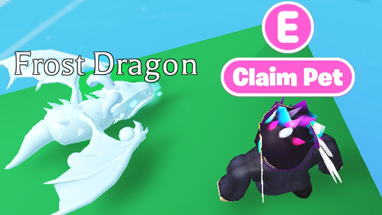 This *SECRET* PLACE GIVES FREE LEGENDARY PETS in Adopt Me! (Roblox)