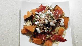 Vegetarian Pasta Recipe With Roast Vegetables - Mark's Cuisine #6