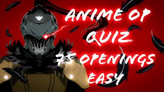 Anime Op Quiz - 75 Openings (Easy)