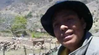 Llegando a Bancos de San Hipolito; Mezquital Durango