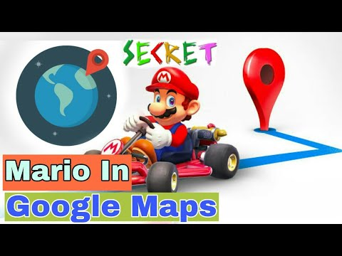 How To Turn Google Maps Into Mario Kart On Your Phone Youtube