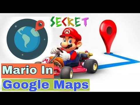 mario kart google map