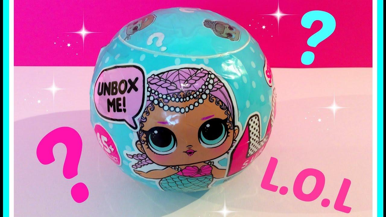 Unboxing Lol Surprise Ball Deel 11 Ons Poppetje Op Een Klein Wctje