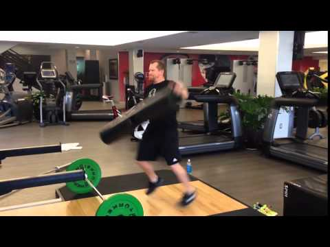 Weightlifting with ViPR - John Sinclair - Video 2