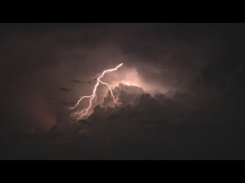 ⚡️ Rumbling Thunder & Wind Sounds For Sleeping, Relaxing ~ Thunderstorm Rain Storm Rumble Ambience