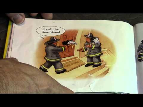 5 Little Firefighters  Book Reading