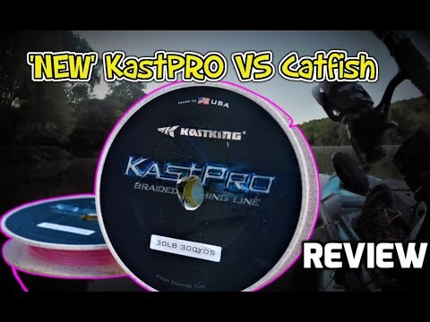 KastKing KastPro Braided Fishing Line Field Test! This Stuff Is AWESOME!!! (Line Review + Fishing)