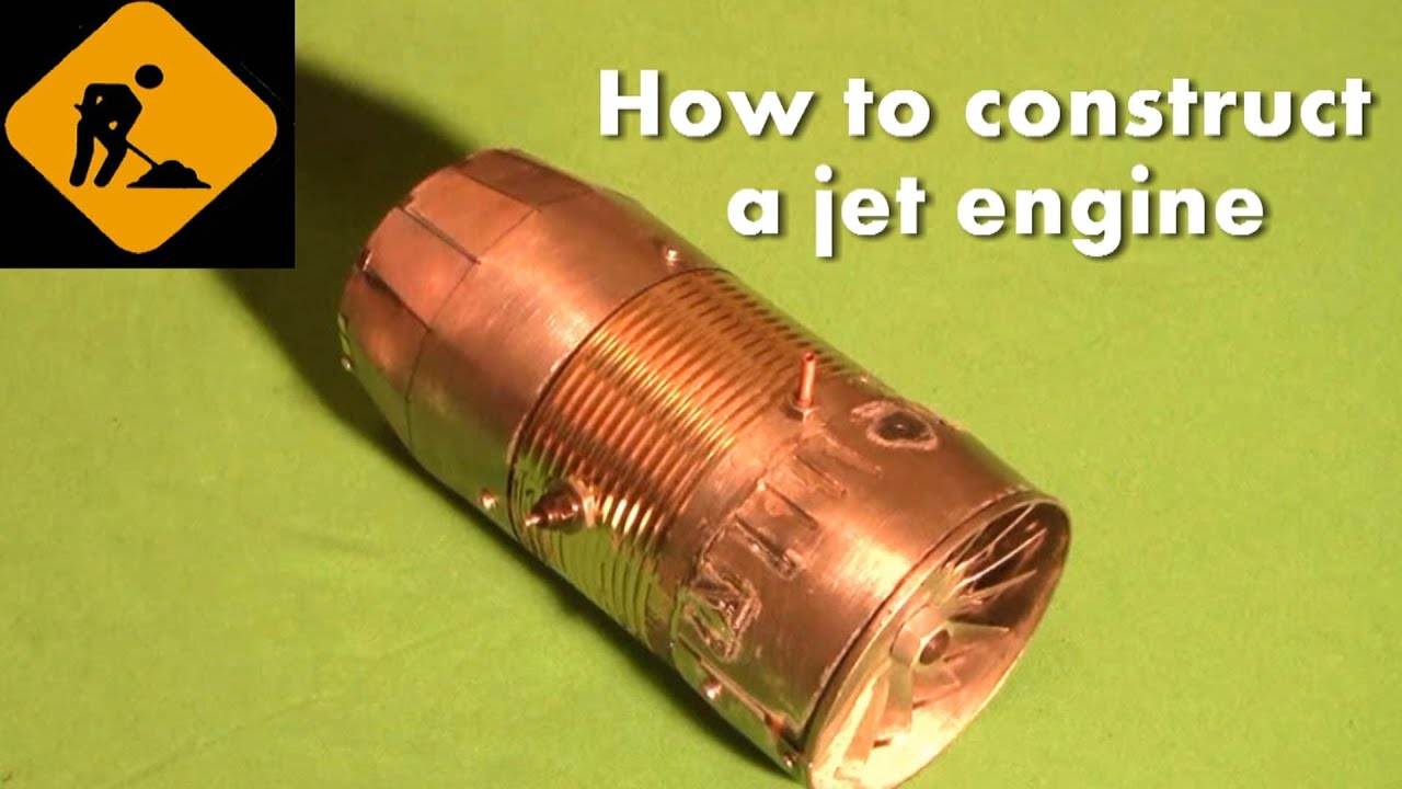 Self Made Jet Engine Mounting Installation